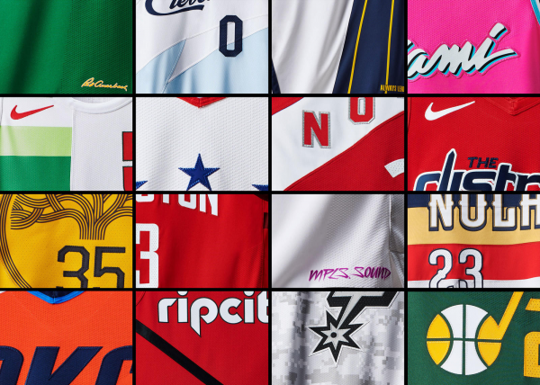 NIKE籃球發表NIKE NBA EARNED EDITION球衣