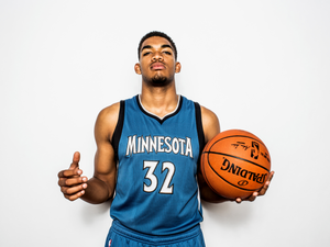 KARL-ANTHONY TOWNS 一個必須記住的名字