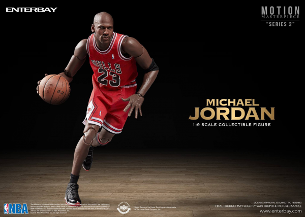 ENTERBAY 1/9 NBA Collection<br>Michael Jordan 麥可-喬丹