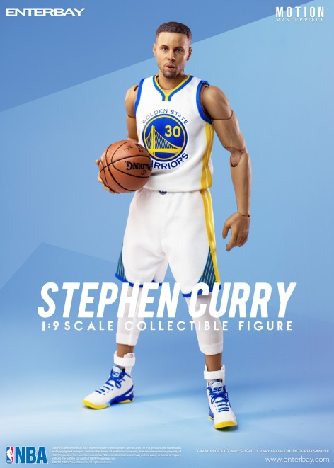 ENTERBAY 1/9  NBA Collection<br>Stephen Curry 史帝芬-柯瑞