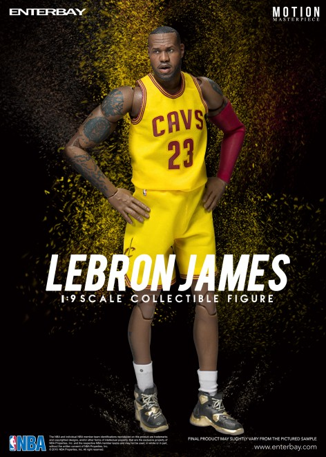 ENTERBAY 1/9 NBA Collection  Lebron James 詹姆士