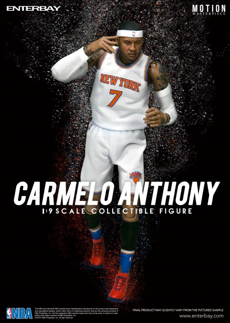 ENTERBAY 1/9 NBA Collection<br>Carmelo Anthony 甜瓜-安東尼