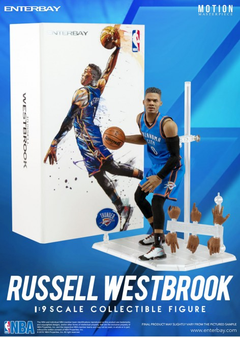 ENTERBAY 1/9 NBA Collection<br>Russell Westbrook 2017MVP 威少